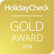 HolidayCheck Golden Award 2018