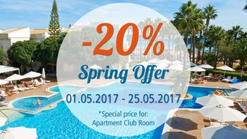 Special offer at Hipotels Mediterraneo Club