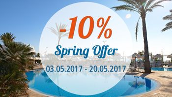 Spring offer at Hipotels Flamenco